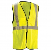 OccuNomix ECO-GCB Value Type R Class 2 Breakaway Mesh Safety Vest - Yellow/Lime