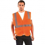 OccuNomix ECO-IM Class 2 Value Mesh Safety Vest - Orange