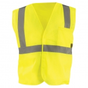 OccuNomix ECO-IM Type R Class 2 Value Mesh Safety Vest - Yellow/Lime