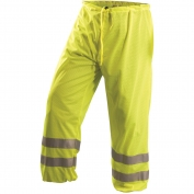 OccuNomix LUX-TEM ANSI Class E Mesh Safety Pants - Yellow/Lime