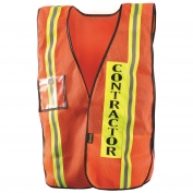 OccuNomix LUX-XCON Mesh Contractor Safety Vest