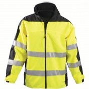 OccuNomix SP-BRJ Speed Collection Type R Class 3 Breathable Rain Jacket - Yellow/Black