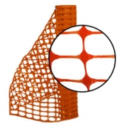 Resinet Lightweight Barrier Fence - 4 ft x 100 ft - Orange