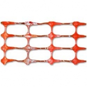 Resinet Oriented Crowd Control Fence - Orange- 4 ft x 100 ft