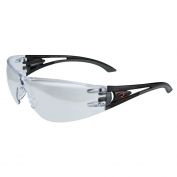 Radians Optima Safety Glasses - Black Temples - Indoor/Outdoor Mirror Lens
