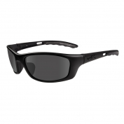 Wiley X P-17 Sunglasses - Matte Black Frame - Grey Lens