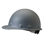 Fibre Metal P2ARW Roughneck Hard Hat - Ratchet Suspension - Gray