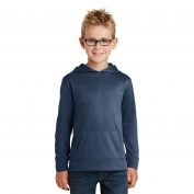 Port & Company PC590YH Youth Performance Fleece Pullover Hooded Sweatshirt - Deep Navy
