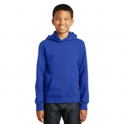Port & Company PC850YH Youth Fan Favorite Fleece Pullover Hooded Sweatshirt - True Royal