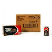 PROCELL 9 Volt Batteries by Duracell, Alkaline, Case 72