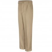 Red Kap PC46 Men's Pleated Front Cotton Pants