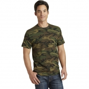 Port & Company PC54C 5.4-Oz 100% Cotton Camo Tee - Military Camo