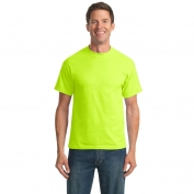 Port & Company PC55 50/50 Cotton/Poly T-Shirt - Safety Green