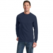 Port & Company PC61LSP Long Sleeve Essential T-Shirt with Pocket