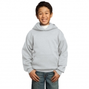 Port & Company PC90YH Youth Pullover Hooded Sweatshirt - Ash