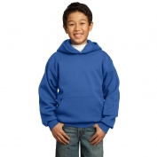 Port & Company PC90YH Youth Pullover Hooded Sweatshirt - Royal