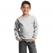 Port & Company PC90Y Youth Crewneck Sweatshirt - Ash