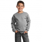 Port & Company PC90Y Youth Crewneck Sweatshirt - Athletic Heather