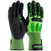 PIP 120-5130 Maximum Safety TuffMax3 Gloves - HPPE Shell with Micro-Surface Nitrile Padded Palm