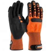 PIP 120-5150 Maximum Safety TuffMax5 Gloves - HPPE Shell with Micro-Surface Nitrile Padded Palm
