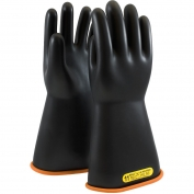 PIP 155-2-14 Novax Class 2 Rubber Insulating Gloves with Straight Cuff - 14