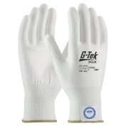 PIP 19-D325 G-Tek 3GX Seamless Knit Dyneema Diamond/Lycra Gloves - Polyurethane Coated Smooth Grip on Palm & Fingers