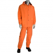 PIP 201-360 Falcon Premium 3-Piece Rainsuit - Orange