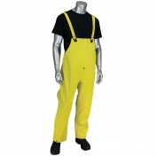 PIP 201-650B Falcon Flex Bib Overall - Yellow/Lime