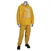PIP 205-375FR Falcon HydroFR Treated 2 Piece Rainsuit - Yellow/Lime