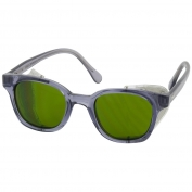 Bouton 5900 Traditional Safety Glasses - Smoke Frame - Green IR 3.0 Lens