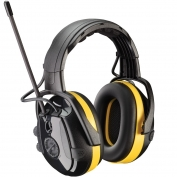 PIP 264-46002 Hellberg React Electronic Ear Muffs with Headband Adjustment, AM/FM Radio, & Active Listening - NRR 24