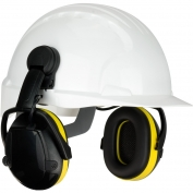 PIP 264-47102 Hellberg Relax Cap Mounted Electronic Ear Muffs with Active Listening - NRR 23
