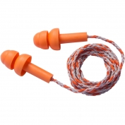 PIP 267-HPR200C Reusable Corded TPE Ear Plugs - 23 NRR