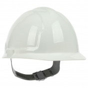 PIP 280-CS4200 Cap Style Hard Hat - 4-Point Slip Ratchet Suspension - White