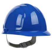 PIP 280-CS4200 Cap Style Hard Hat - 4-Point Slip Ratchet Suspension - Blue