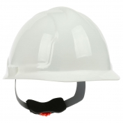 PIP 280-CW4200 Cap Style Hard Hat - 4-Point Wheel Ratchet Suspension - White