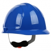 PIP 280-CW4200 Cap Style Hard Hat - 4-Point Wheel Ratchet Suspension - Blue