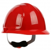 PIP 280-CW4200 Cap Style Hard Hat - 4-Point Wheel Ratchet Suspension - Red