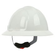PIP 280-FBW4200 Full Brim Hard Hat - 4-Point Wheel Ratchet Suspension - White