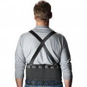 PIP 290-440 Mesh Back Support Belt - Black