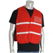 PIP 300-1508 Polyester Non-ANSI Incident Command Vest - Red