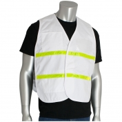 PIP 300-1511 Polyester Non-ANSI Incident Command Vest - White