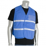 PIP 300-2509 Cotton/Polyester Non-ANSI Incident Command Vest - Light Blue