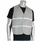 PIP 300-2515 Cotton/Polyester Non-ANSI Incident Command Vest - Gray