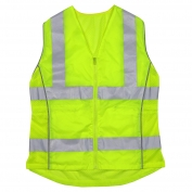 PIP 302-0312 Type R Class 2 Women's Solid Front Contoured Safety Vest