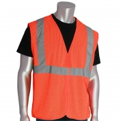 PIP 302-MVG Economy Class 2 Mesh Safety Vest - Orange