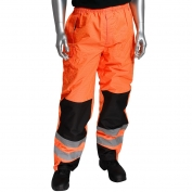 PIP 318-1771 Class E Ripstop Reinforced Overpants - Orange