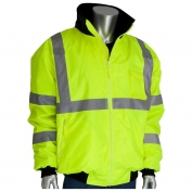 PIP 333-1762 Type R Class 3 2-in-1 Bomber Jacket - Yellow/Lime