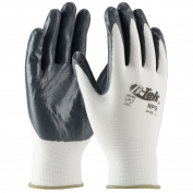 PIP 34-225 G-Tek NPG Seamless Knit Nylon Gloves - Nitrile Coated Smooth Grip on Palm & Fingers