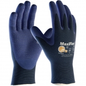 PIP 34-244 MaxiFlex Elite Ultra Light Weight Seamless Knit Nylon Gloves with Nitrile Coated Palm & Fingers